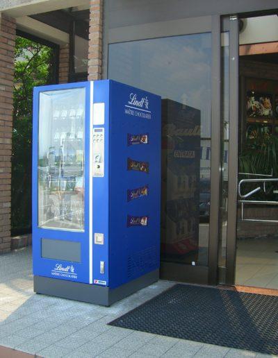 Distributore automatico Lindt