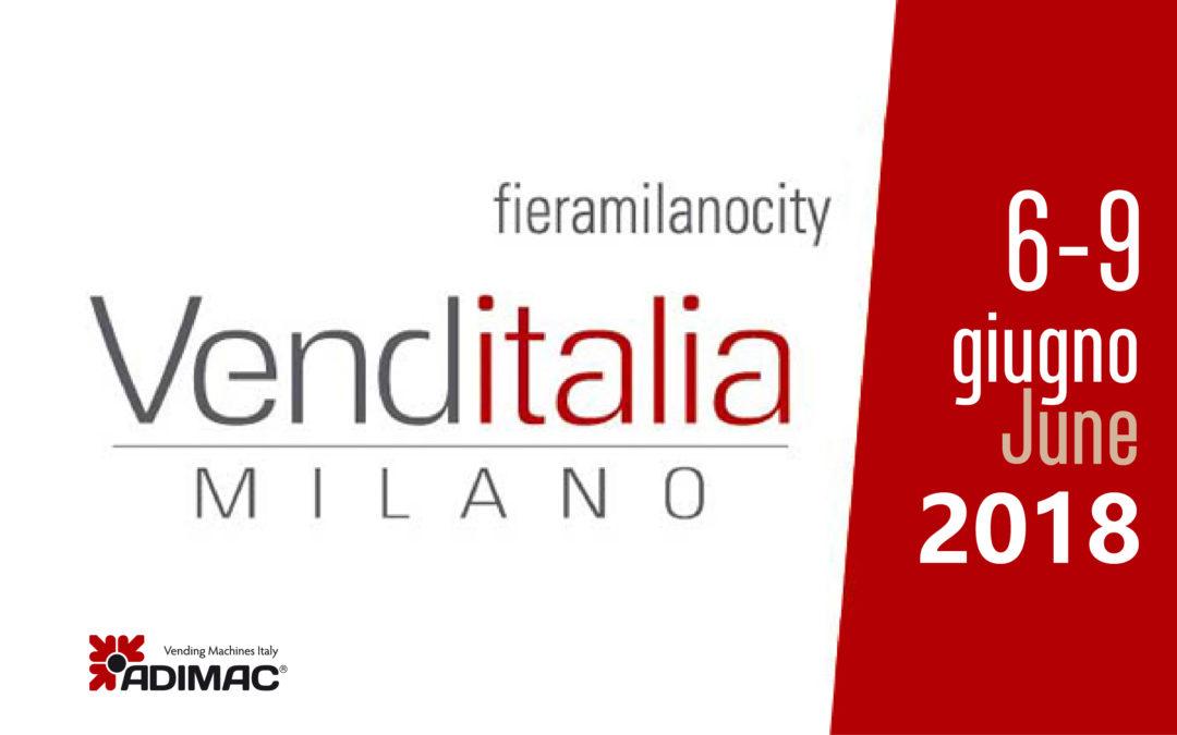 Grandi novità per Adimac alla Fiera Venditalia
