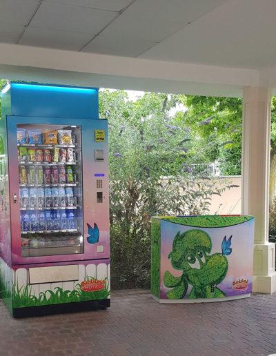 Vending machine Gardaland