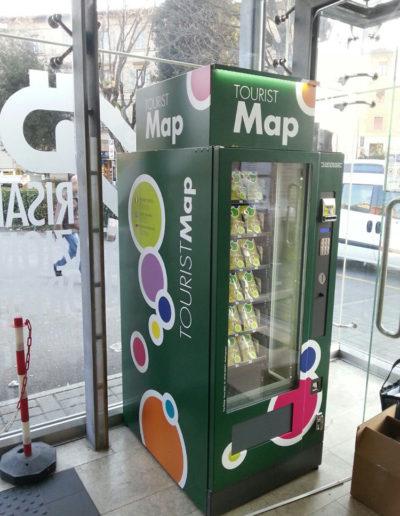 Distributore automatico mappe