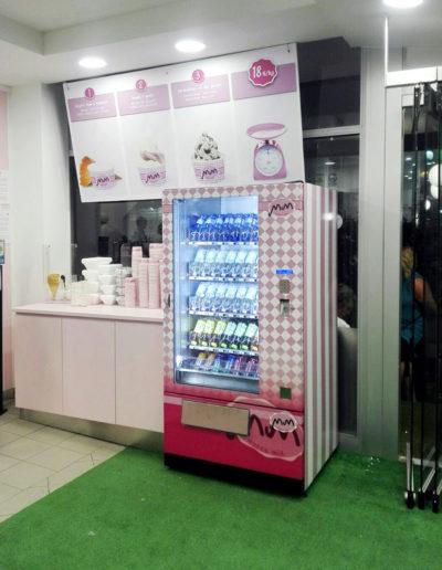 Distributore gelateria