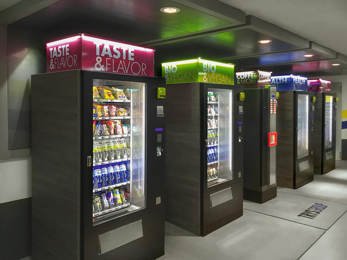 Adimac vending machine Venezia