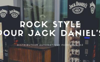Esprit rock pour le distributeur JACK DANIEL'S