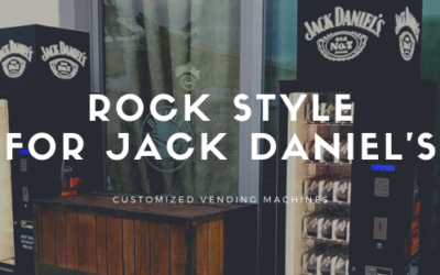 A rock vending machine for JACK DANIEL'S