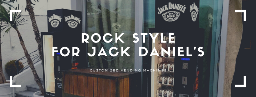 A rock vending machine for JACK DANIEL'S