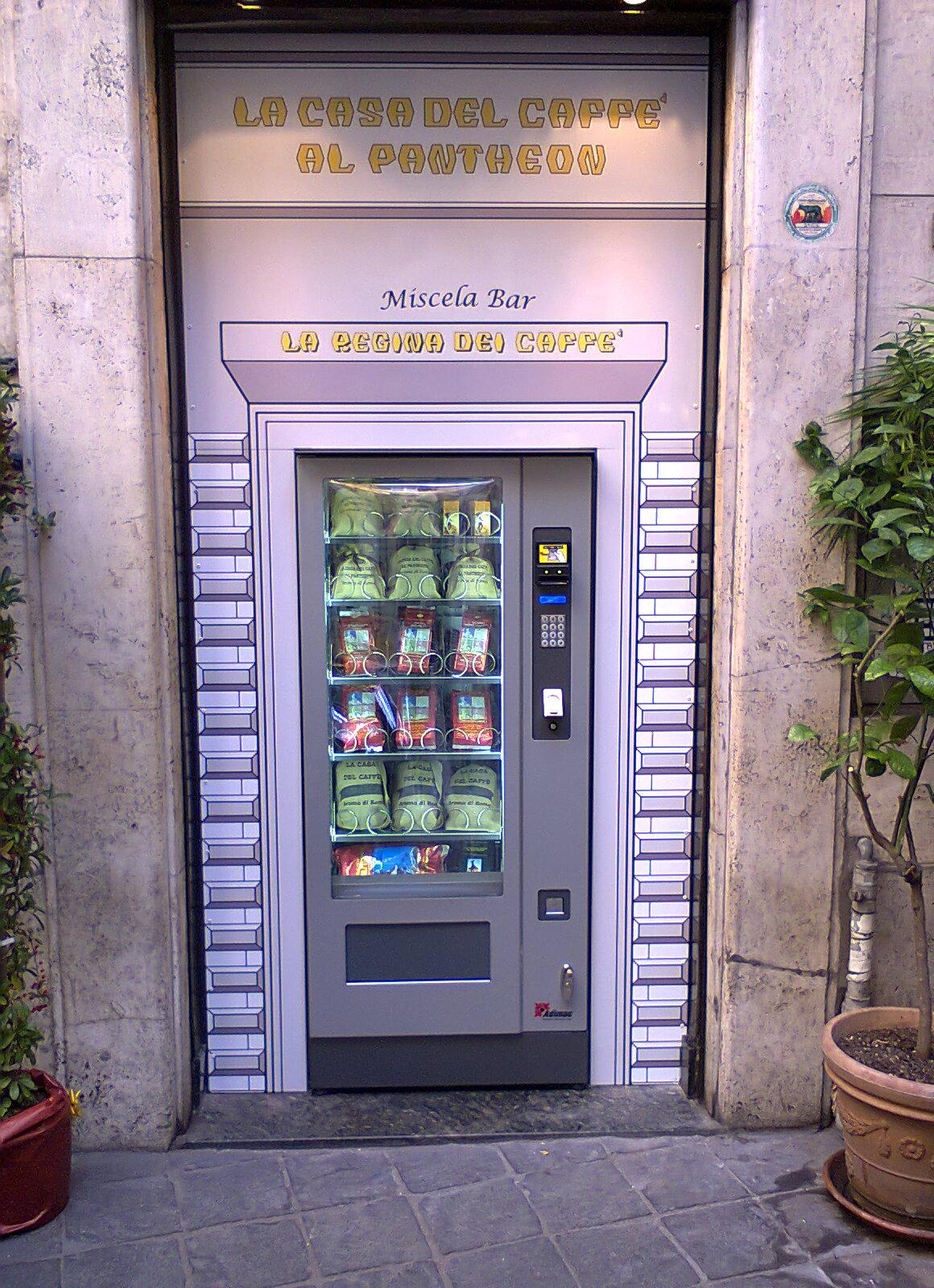 Adimac Michelangelo_distributore automatico personalizzato