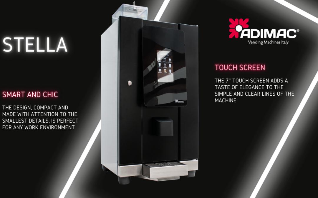 Stella touch Adimac vending machine